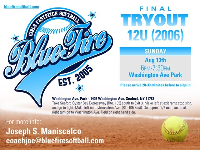 Final Tryout for 12U (2006)